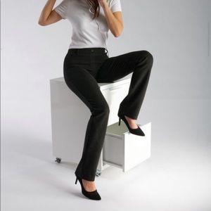 Betabrand Straight Leg Dress Yoga Pants